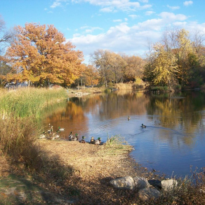 Humboldt Park in Milwaukee's Bay View neighborhood
