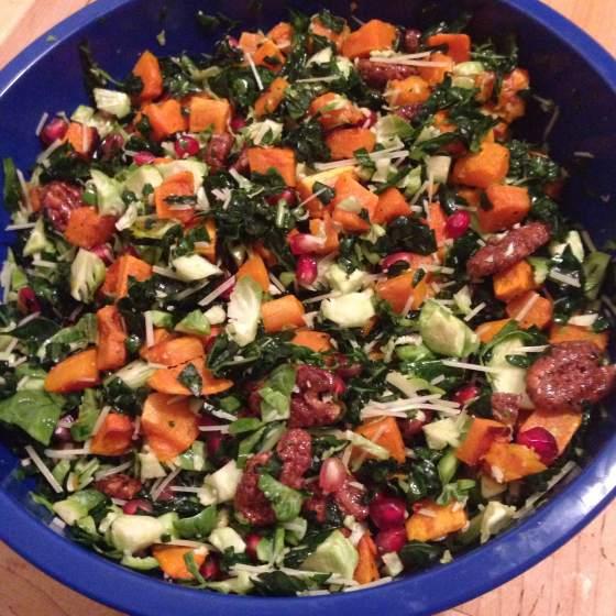 'Tis the Season for Harvest Salads // Run. Crave. Conquer. blog